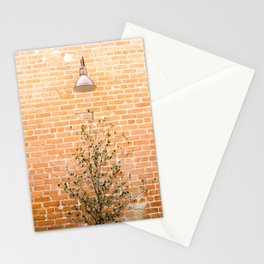 Street photography lamp & tree I Stationery Cards