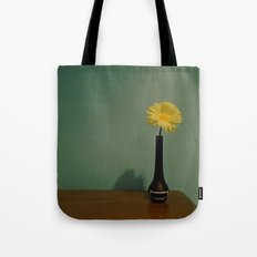 Flower In the Open Tote Bag