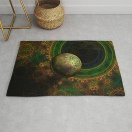 TikTok's Four-Dimensional Steampunk Time Contraption Rug