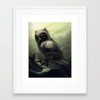 howl Framed Art Prints featuring Howl  by Shana Patry