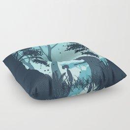 Lonely Spirit Spirited Away Floor Pillow