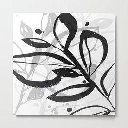Botanical Joy No.8A by Kathy Morton Stanion Metal Print