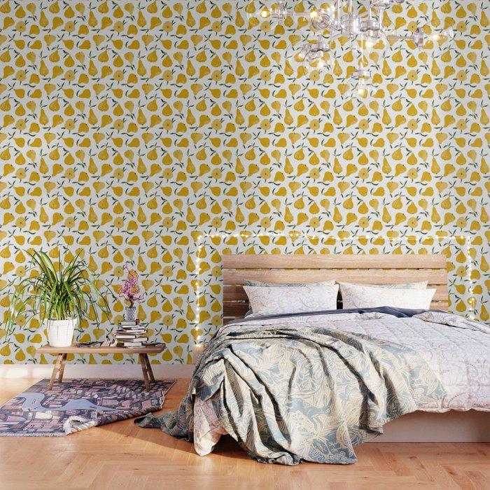 Yellow pear Wallpaper