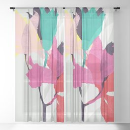 lily 31 sq Sheer Curtain