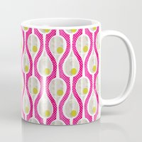 tennis Mugs featuring tennis by ottomanbrim