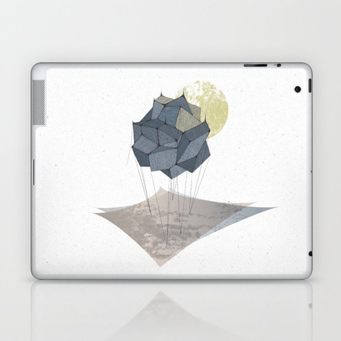The Rock of Humanity Laptop & iPad Skin