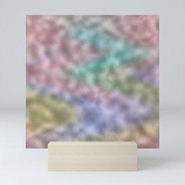 Mottled Rainbow Iridescent Foil Mini Art Print
