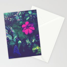Gathering of Flowers - [Purple Version] Stationery Cards