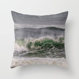 Another day another Wave Throw Pillow