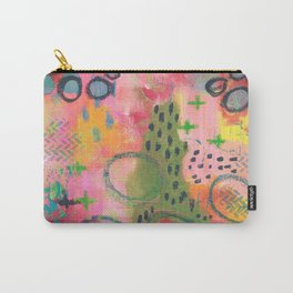 Pink Comes out to Play Carry-All Pouch