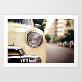 The car Art Print