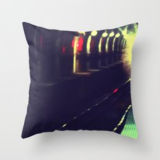 Do not walk into the light Throw Pillow