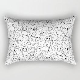 Oh Dachshund Rectangular Pillow