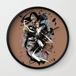 Bleach Caracters Cools5 Wall Clock