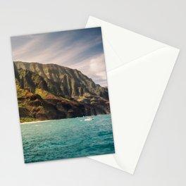 Na Pali Coast Kauai Hawaii Printable Wall Art | Tropical Beach Nature Ocean Coastal Travel Photography Print Stationery Cards