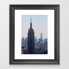 South New York City Framed Art Print