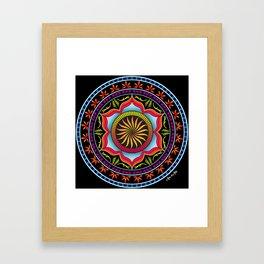 Mandala 5 Framed Art Print