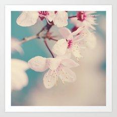 spring blossoms II Art Print
