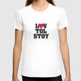 Lev LOVE Tolstoy T-shirt