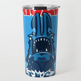 KaiJaws (Pacific Rim/Jaws) Travel Mug