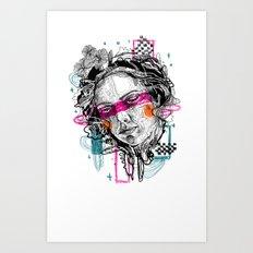 lookdown Art Print