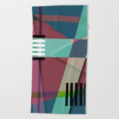 Abstract #410 Beach Towel