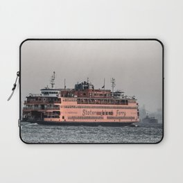 """""""The Boat"""" , Staten Island Ferry Laptop Sleeve"""