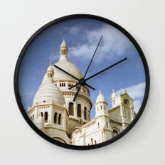 Sacre Coeur, Paris  Wall Clock