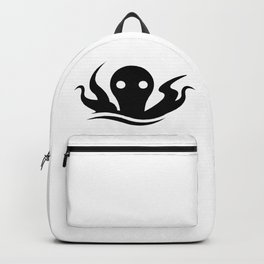 Kraken Giant Octopus Silhouette Backpack