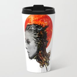 just a ghost in the shell Travel Mug