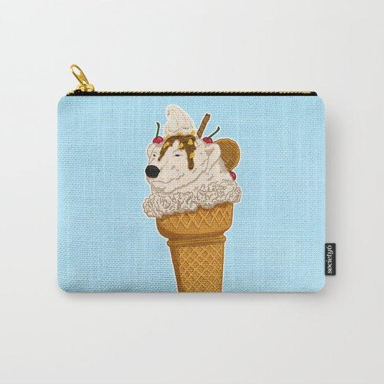 Polar Bear Ice Cream Carry-All Pouch