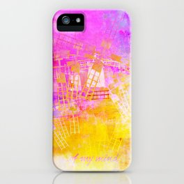 ..of my mind iPhone Case