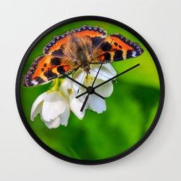Spring breakfast Wall Clock