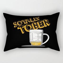 Funny Beer Rectangular Pillow