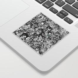 Ahegao hentai faces Sticker