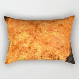 fire wall Rectangular Pillow