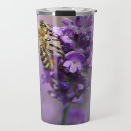 Beautiful Honey Bee Travel Mug