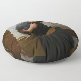 Longing (Saudade) by Almeida Junior Floor Pillow