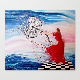 Holding Back Time Canvas Print