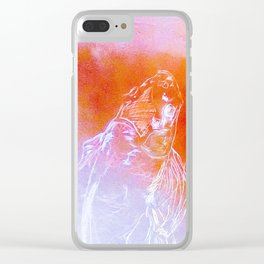 Koi fish warm colors Clear iPhone Case