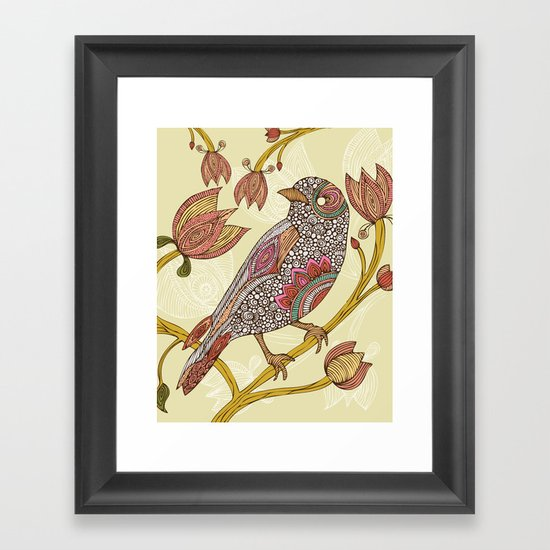 Anais Framed Art Print