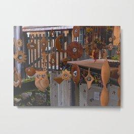 Hand Craft Display Metal Print