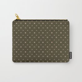 pixel texture Carry-All Pouch