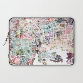Baltimore map Laptop Sleeve