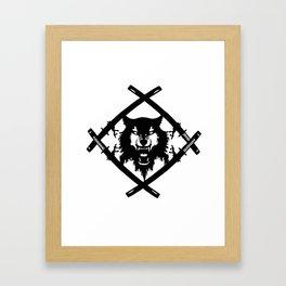 Hollow Squad Logo  Framed Art Print