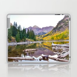 Maroon Bells in the fall Laptop & iPad Skin