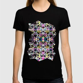 Paint Splatter - Black T-shirt