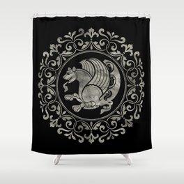 Simurg -Senvurv -Senmurgh Shower Curtain