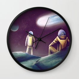 Observing The Energy Comet Wall Clock