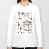 walking dead Long Sleeve T-shirts featuring The Walking Dead by Tracie Andrews